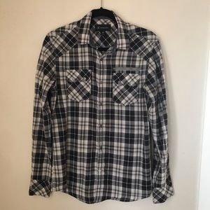 INC men's button up shirt size small